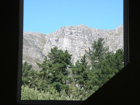 A view of the Stellenbosch mountain